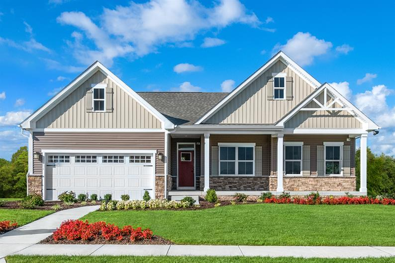 Craftsman-Style Homes in an Attractive, Established Community