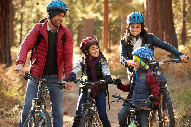 Family Fun at Yellow Spring Bike Trails is just around the corner