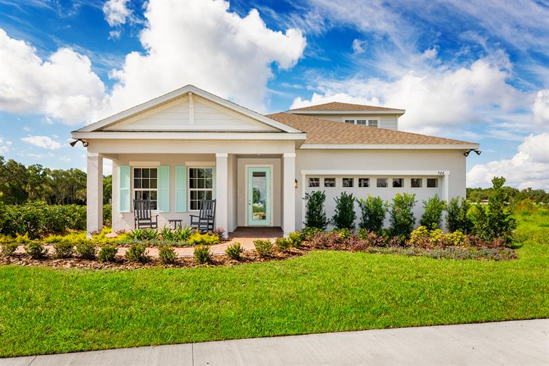 Offering One- and Two-Story Homes in Deland