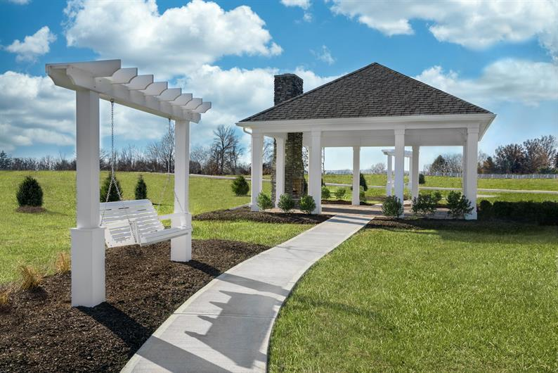 RELAX AT COMMUNITY GAZEBO AND FIREPLACE
