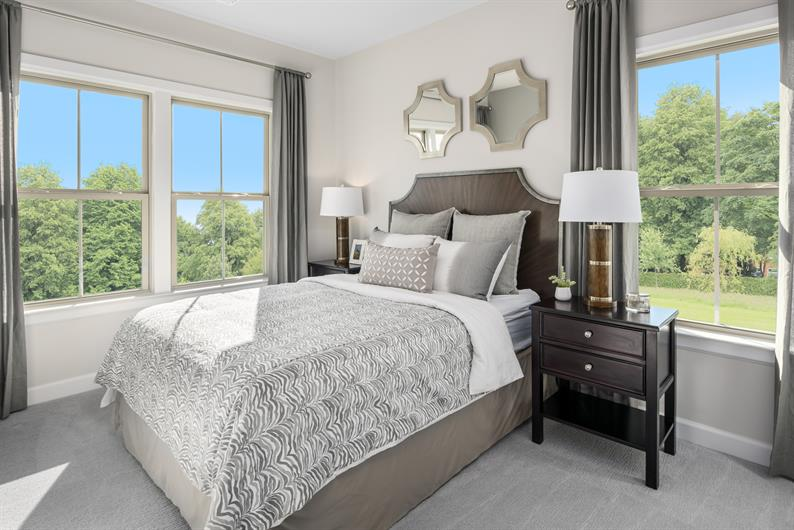 Sizable Secondary Bedrooms with Ample Storage