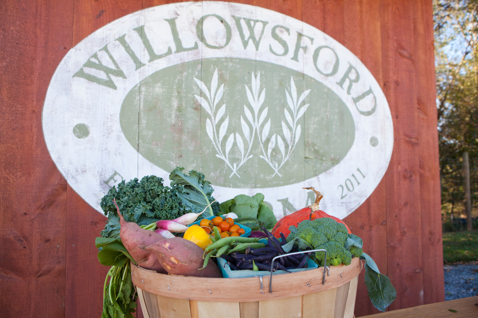 Enjoy over 300 acres with over 100 varieties of fruits and vegetables at Willowsford.
