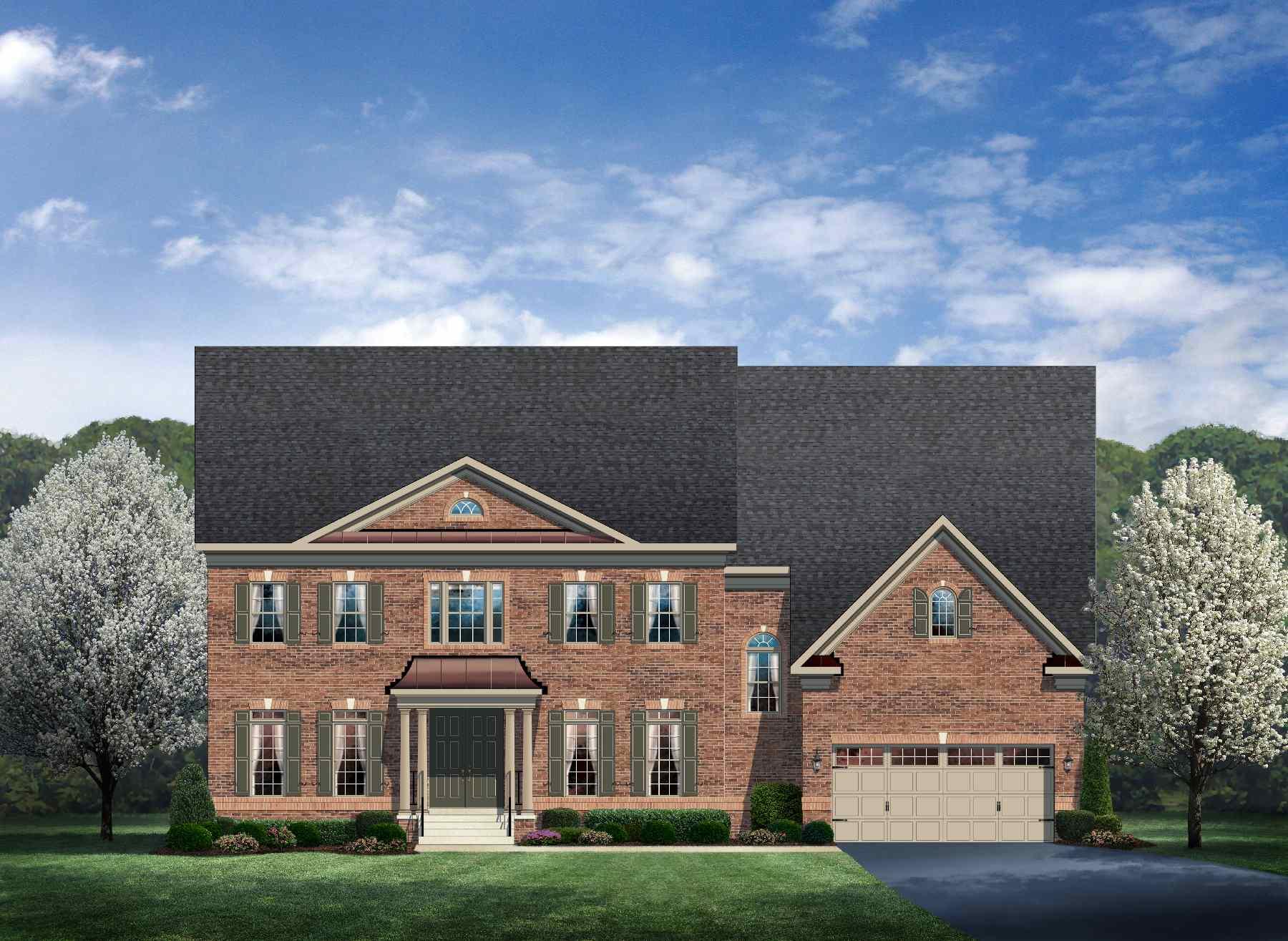 New Mount Vernon Ii Home Model For Sale Nvhomes