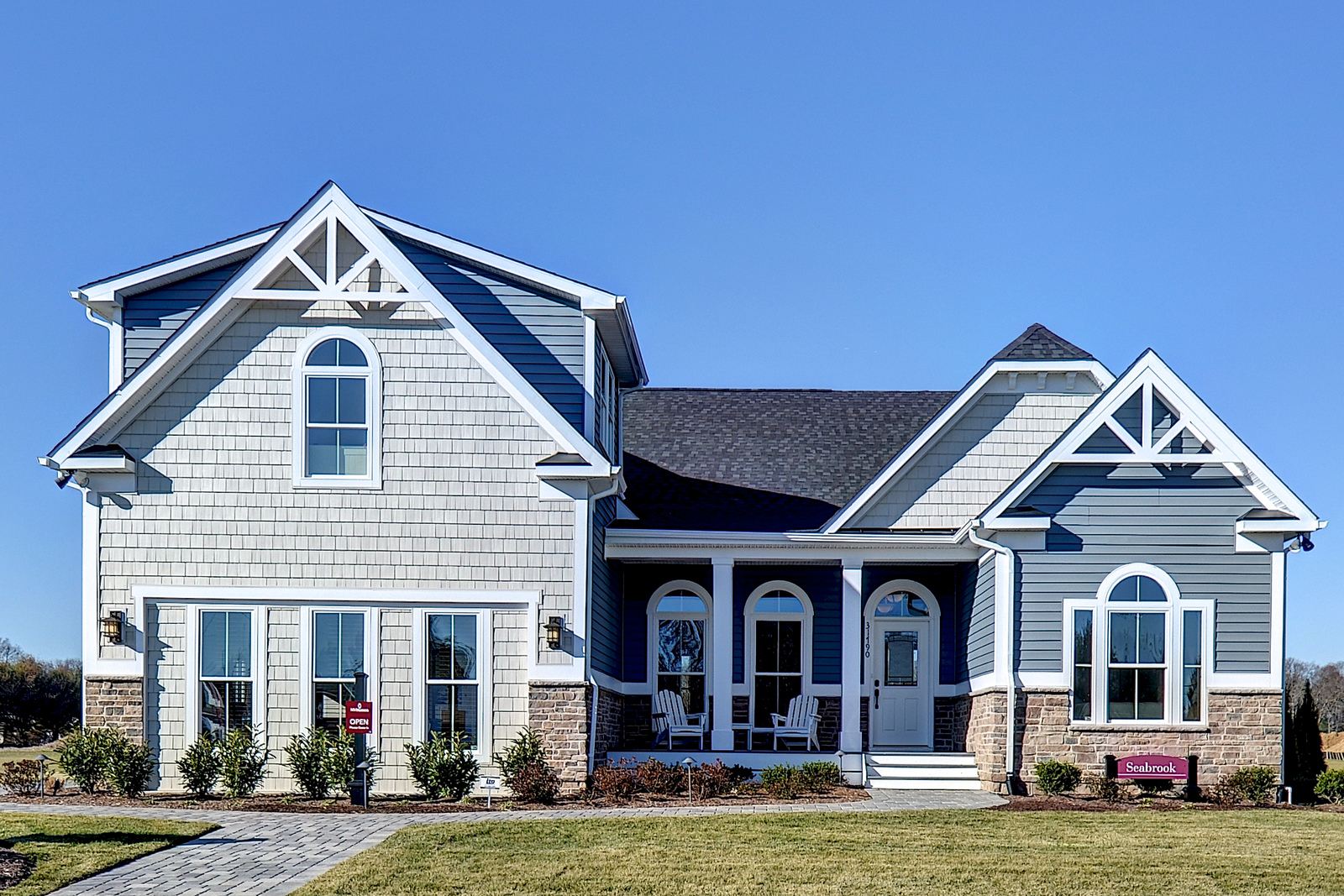 With four beautiful floorplans to choose from, you're sure to find your perfect home at Seagrove.