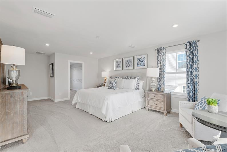 Spacious Floorplans and Ample Closet Space