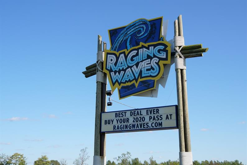 Nearby Raging Waves Water Park