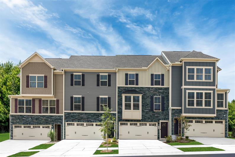 Luxury townhomes near Verdae with space and features you expect. From the low $300s.