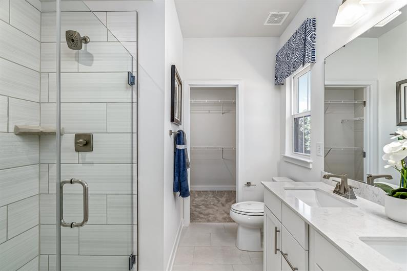 Luxury Bathrooms make it easy to start or end the day