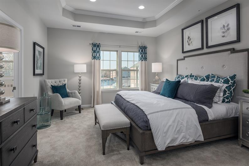 You Deserve this Spacious Owner's Suite!