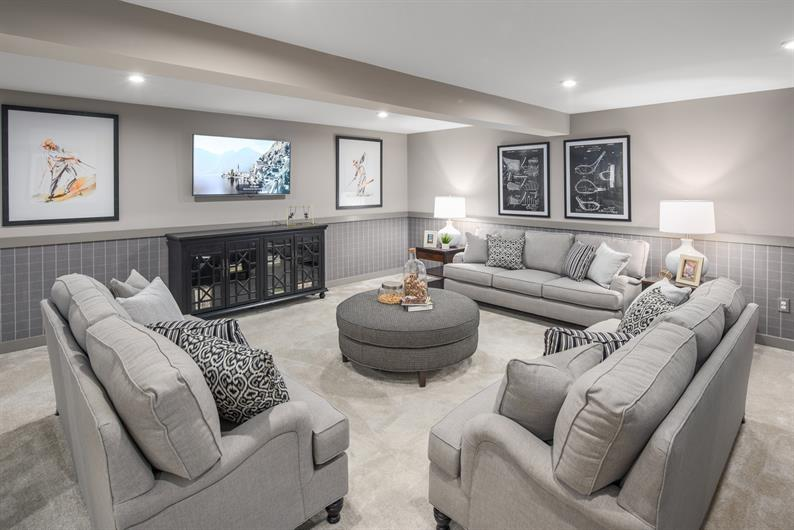 FINISH THE BASEMENT FOR EVEN MORE SPACE