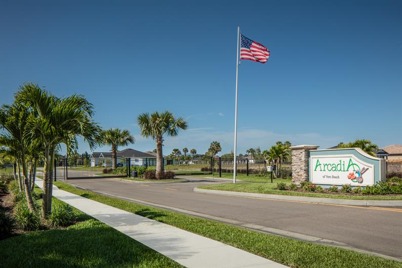 Arcadia of Vero Beach is a Gated Community