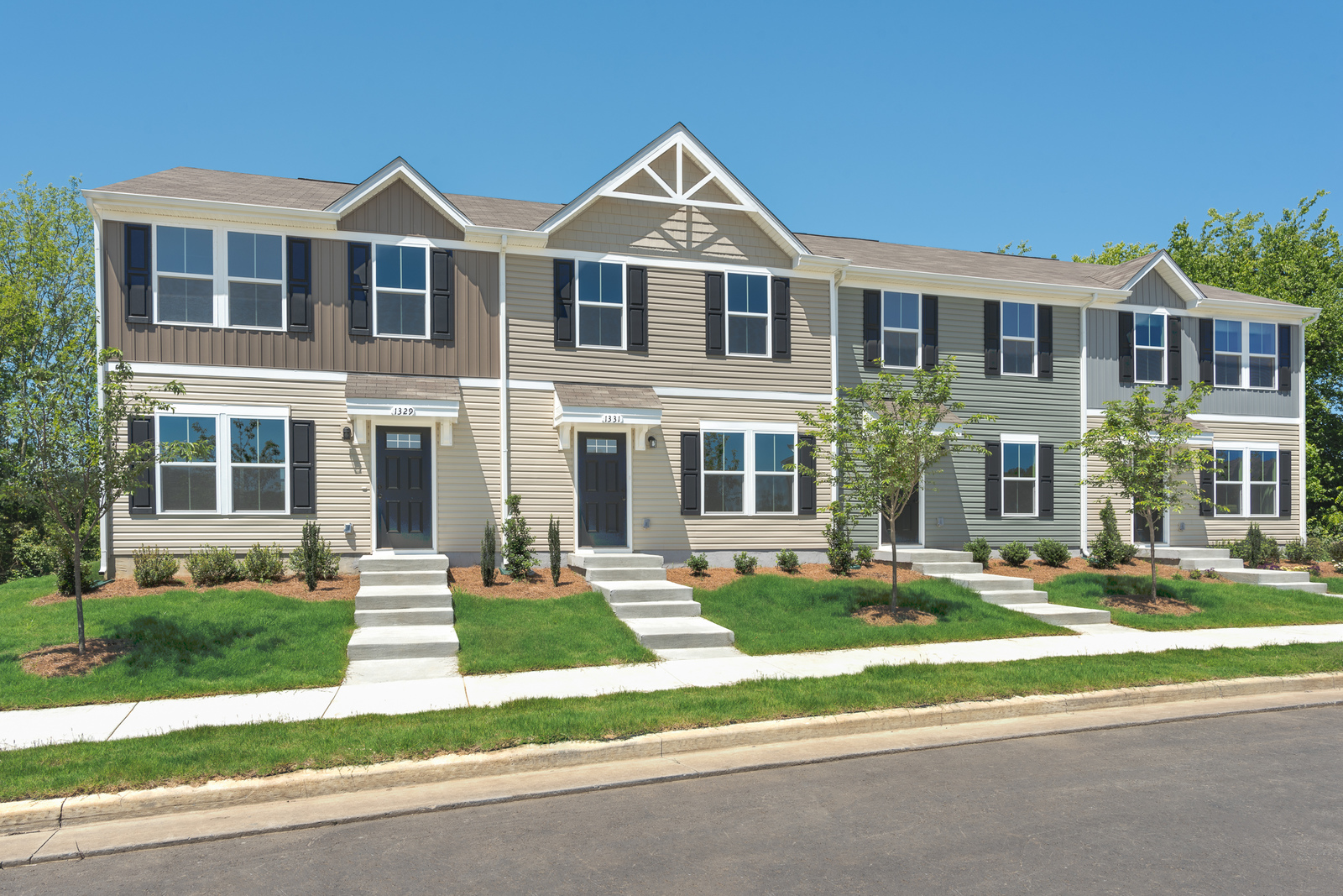 New Homes For Sale At Belle Arbor Townes In Nashville Tn Within The