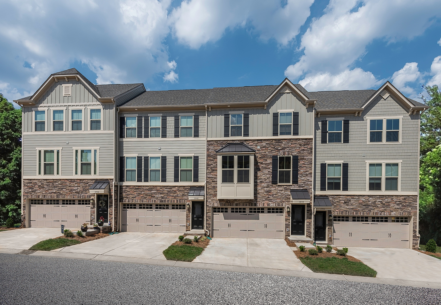 New Homes For Sale At Market Point Townes In Greenville Sc