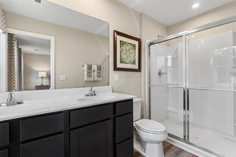 FINALLY MORE THAN ONE BATHROOM MAKING MORNINGS EASIER!
