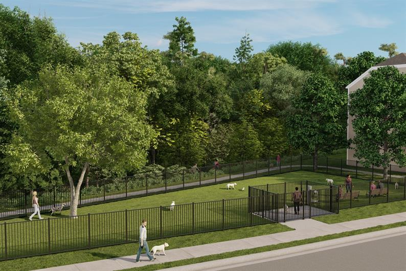 Future Dog Park In the Community
