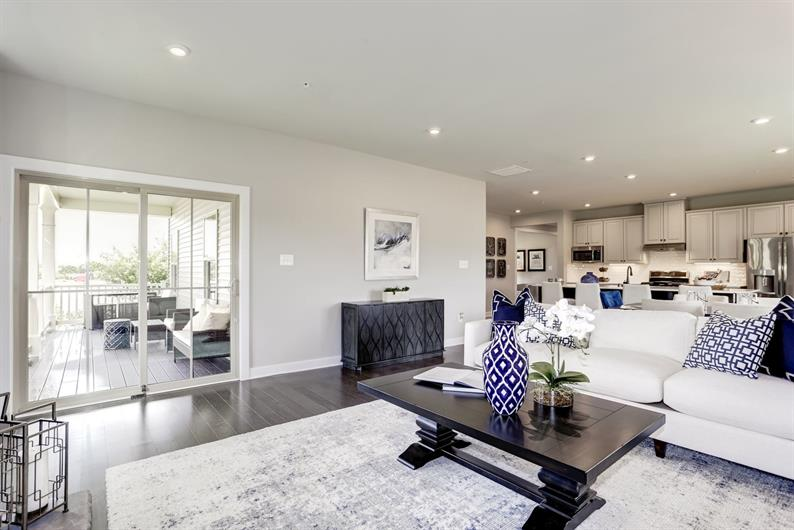 Never Miss a Moment with Loved Ones with an Open Concept Living Area