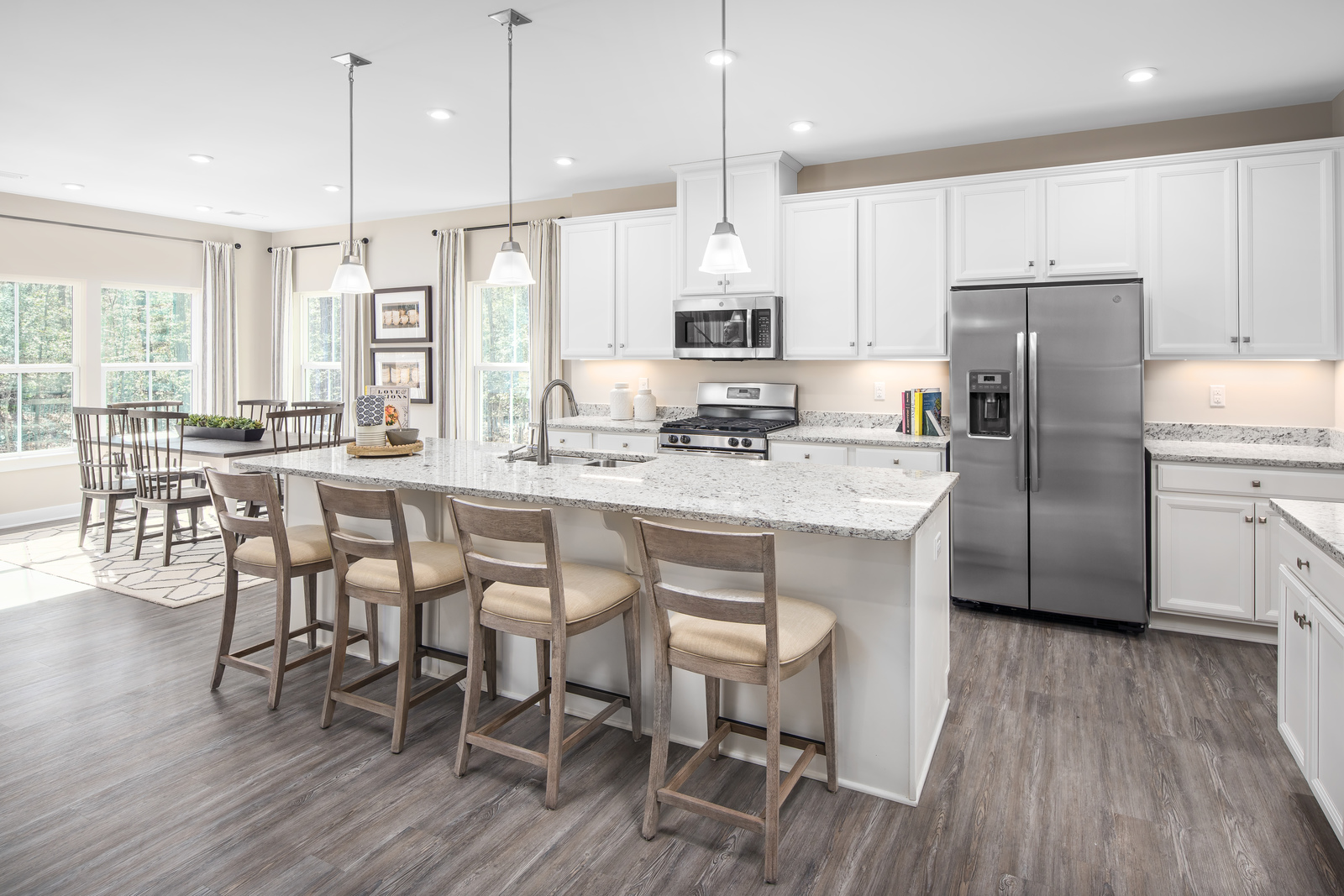 Love the Tuckahoe area but want a modern home? Floorplans here include 2- car garages open spaces designed for the way you live today, without extra cost. Click here to join our Priority List!