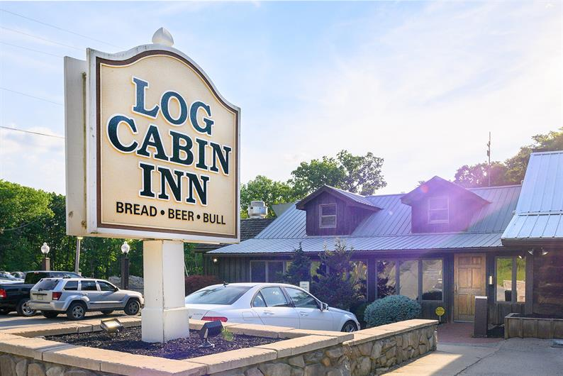 The award-winning Log Cabin Inn