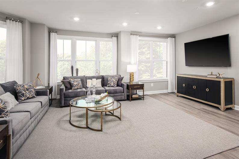 Sizable Living Spaces