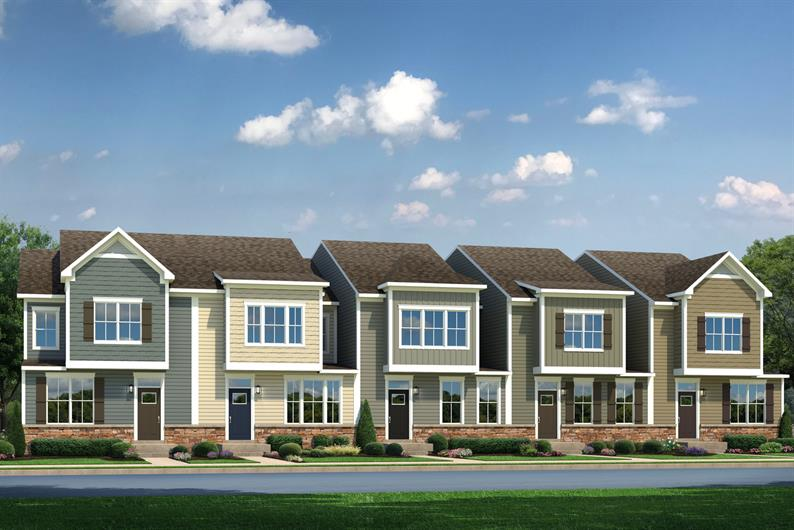 Welcome home to Village at Marketplace Townhomes