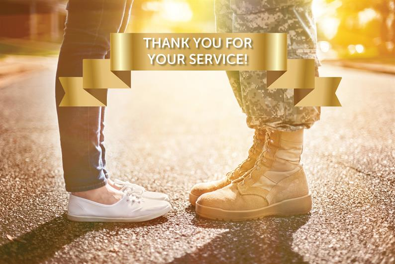 Thank you for your service!