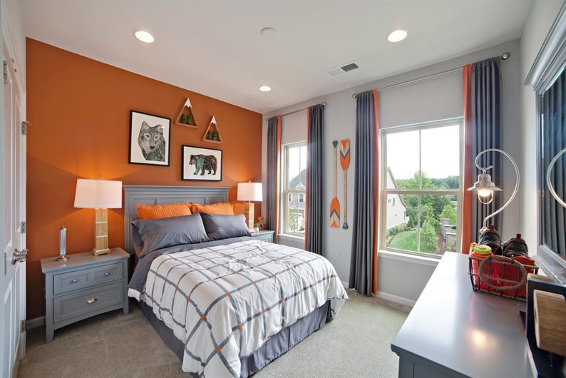 Oversized Bedrooms
