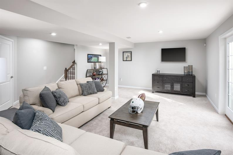 Finished walkout basement included