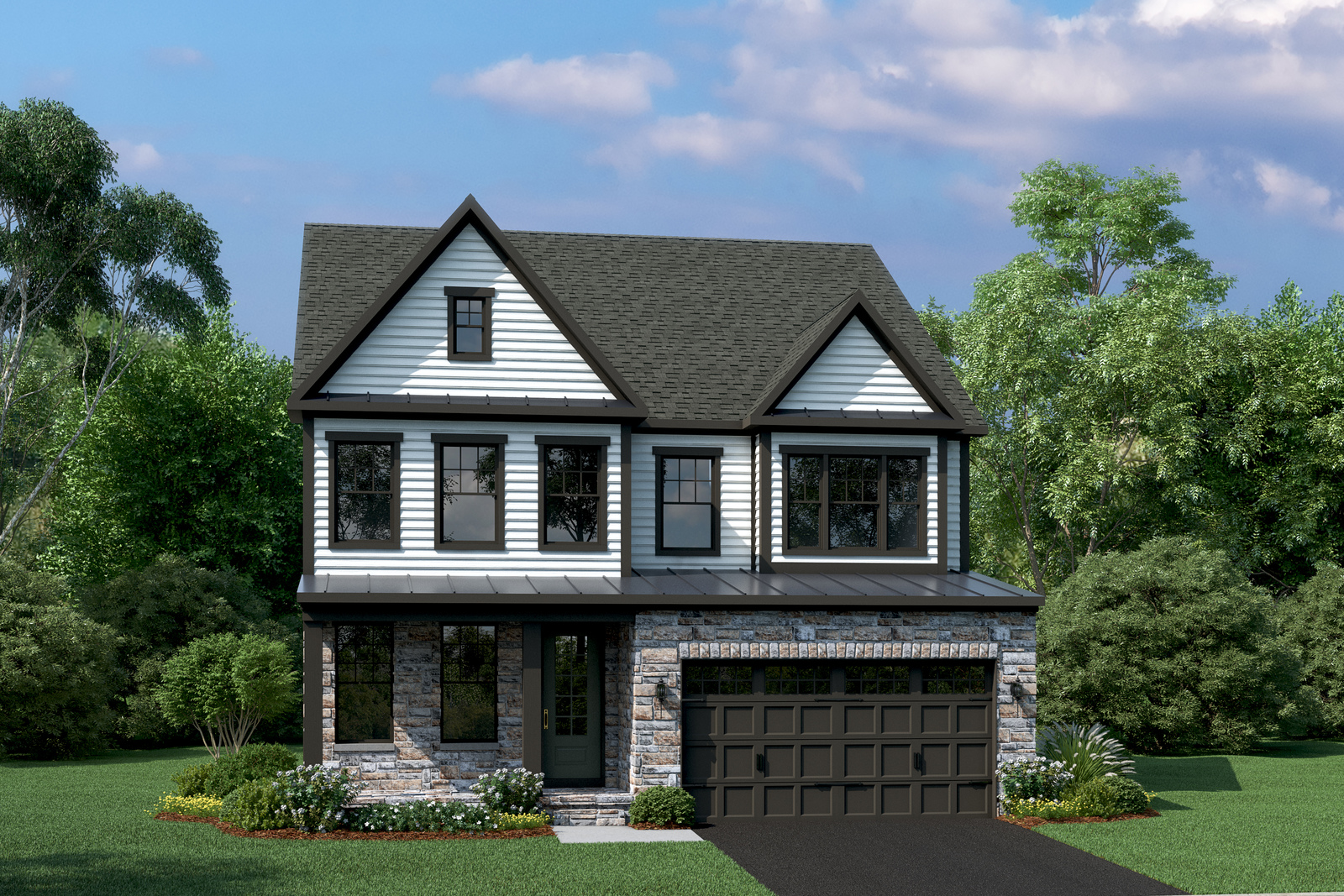 Introducing an exclusive community of 25 Premier Series homes on 1/3 acre lots in Tuckahoe's Freeman HS District. From the mid $400s.