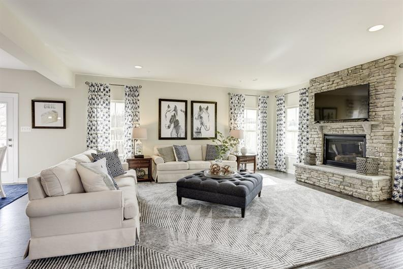 feel at home in a bright and airy space