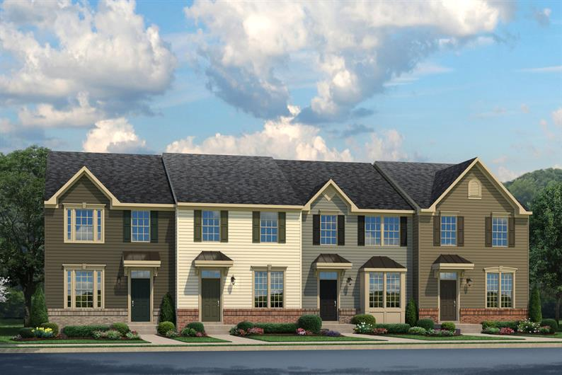 Convenient Main Level Entrance Townhomes
