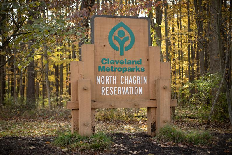 NORTH CHAGRIN RESERVATION OFFERS SCENIC TRAILS & SQUIRE'S CASTLE—THE PERFECT SPOT TO GET OUTDOORS