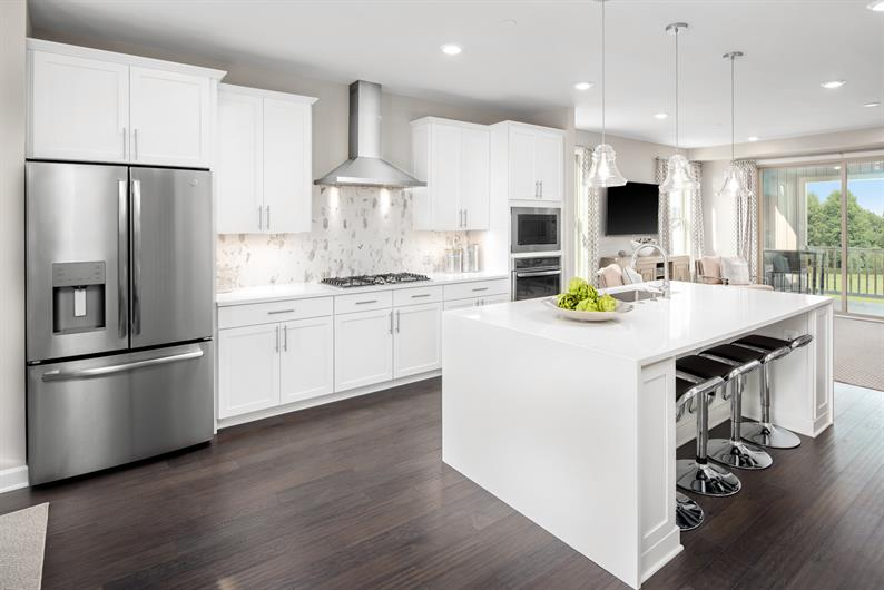 Chef's Kitchen with Infinity Island