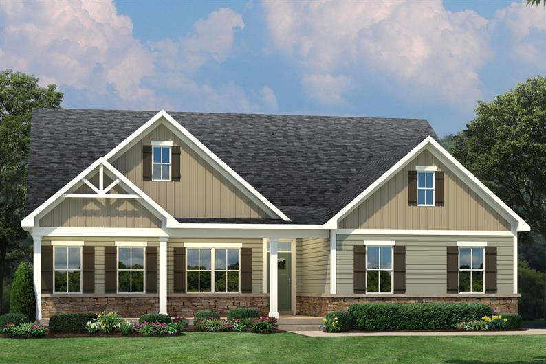 CHOOSE FROM A 1-STORY OR 2-STORY HOME