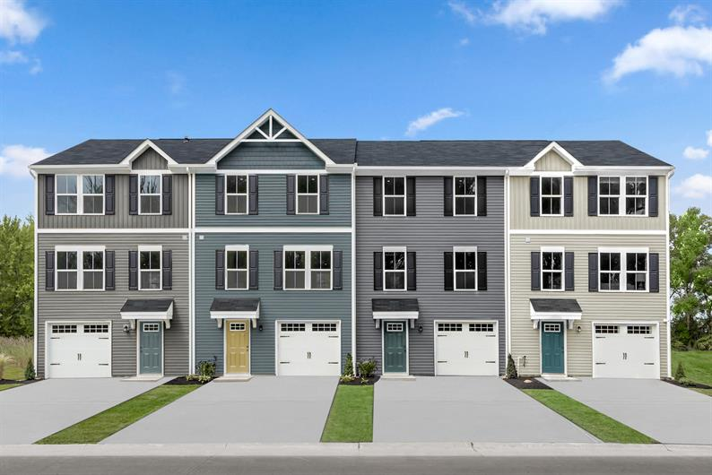 The area's lowest-priced townhomes where you can own for the same or less than rent.