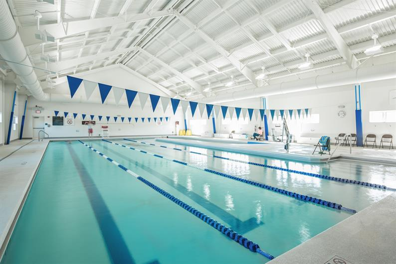 JEFF ROUSE SWIM & SPORT CENTER NEARBY!