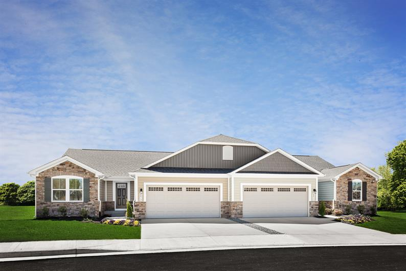 BRAND NEW EVERYTHING WITH INCLUDED STONE EXTERIOR DETAILS