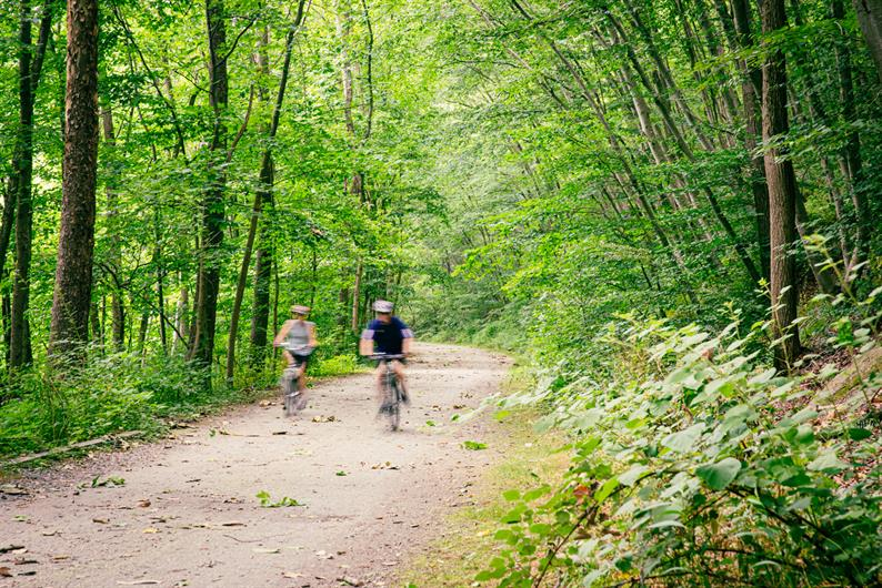 Hike and Bike Throughout the Community