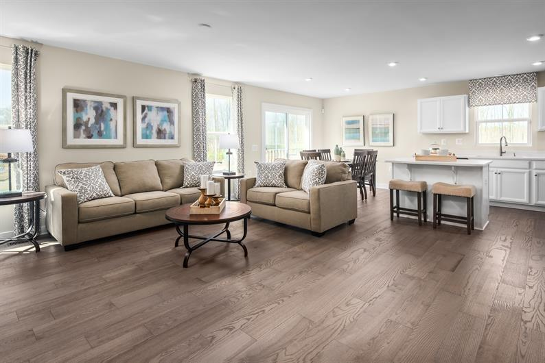 GREAT SPACES TO ENTERTAIN WITH OPEN FLOORPLANS