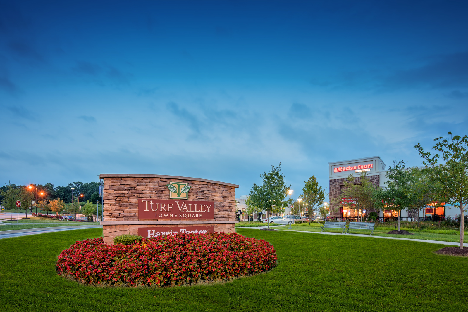 Walker Meadows is a short drive to the shops and dining of Turf Valley.