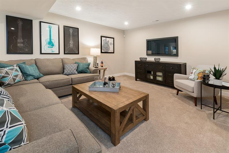 FINISH YOUR BASEMENT FOR EVEN MORE SPACE TO ENTERTAIN