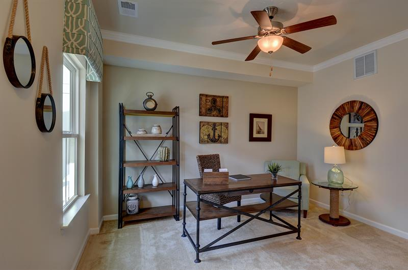 Use your lower level as an office or 3rd bedroom!