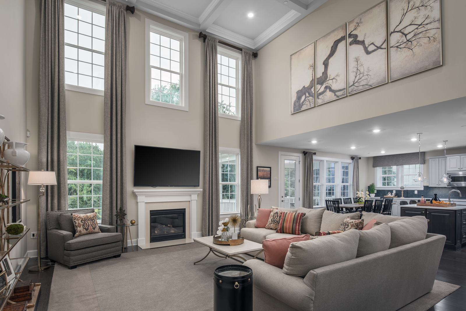 With options for two-story family rooms, you'll love hosting the grandest of affairs.