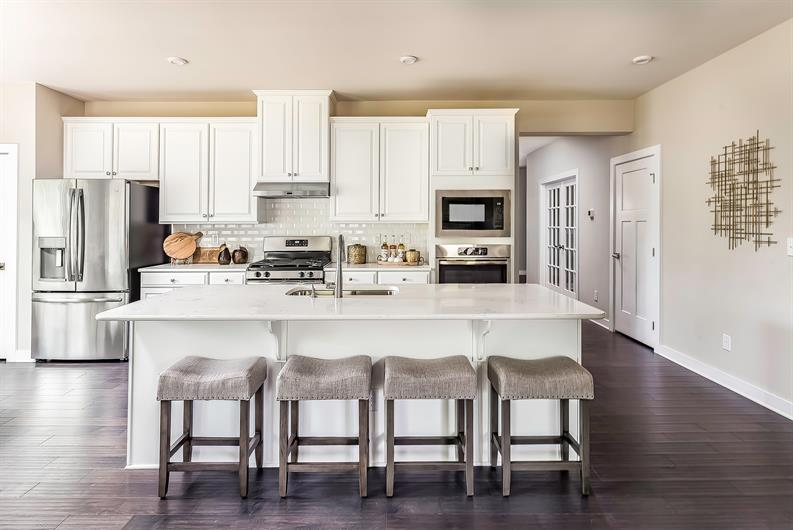Updated Kitchens with Luxury Features Included