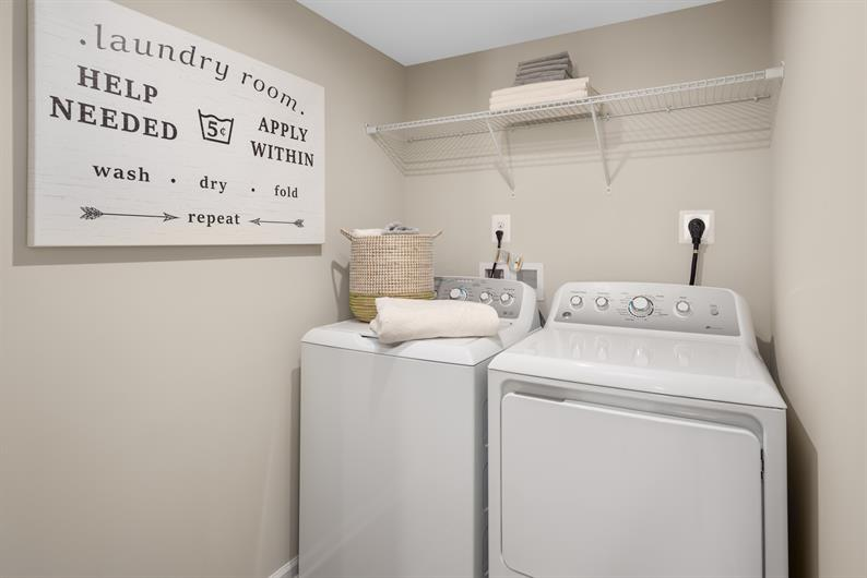 SKIP THE LAUNDROMAT – WASHER & DRYER ARE INCLUDED