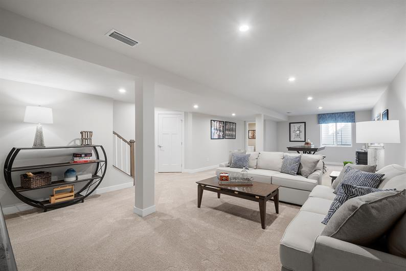 Finished Basements Available