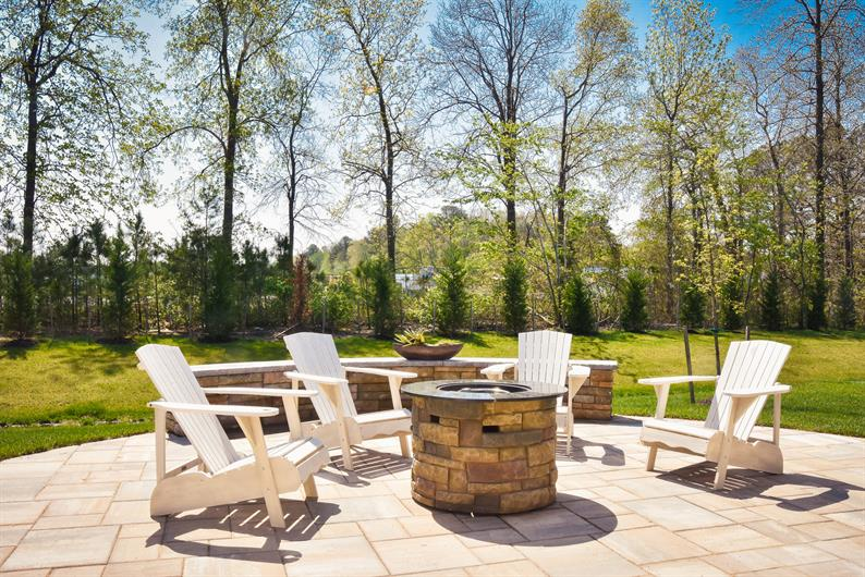 Backyards Provide an Outdoor Living Space