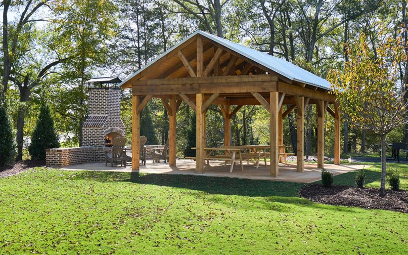 Fall nights will be ideal at the Woodland Pointe firepit