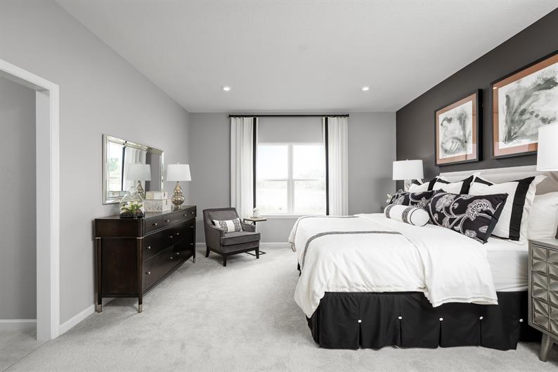 Enjoy a masterfully designed owner's suite