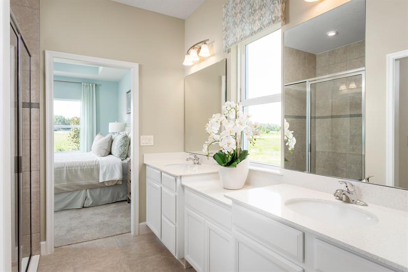 Relax and Unwind in Your Owner's Suite Bathroom