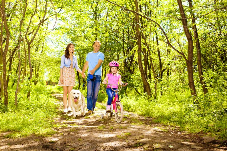 Take the family on an outdoor adventure